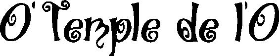 logo O Temple de l'O