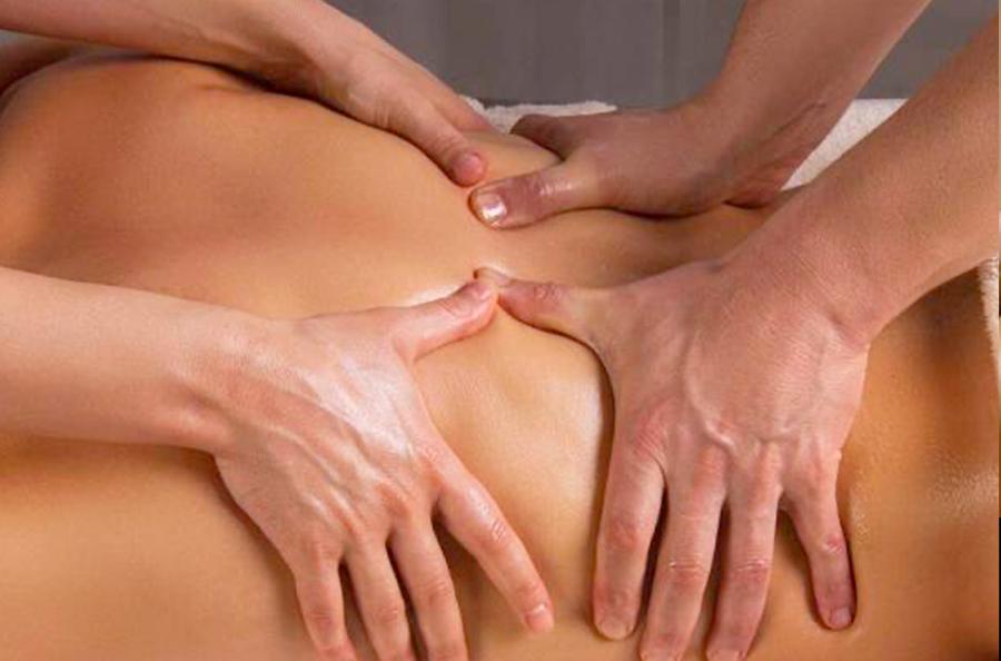 Massage 4 mains en Ariège à la Tour-du-Crieu