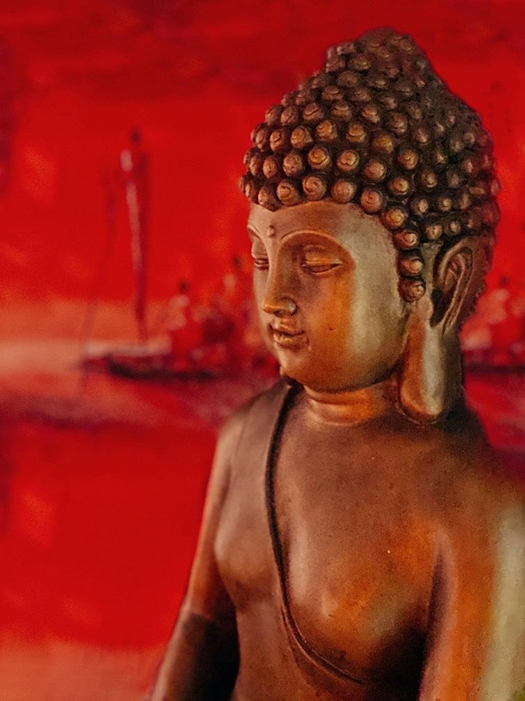 Boudha rouge O Temple de l'O