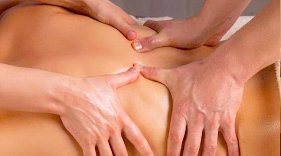 Massage 4 mains en Ariege la tour du crieu